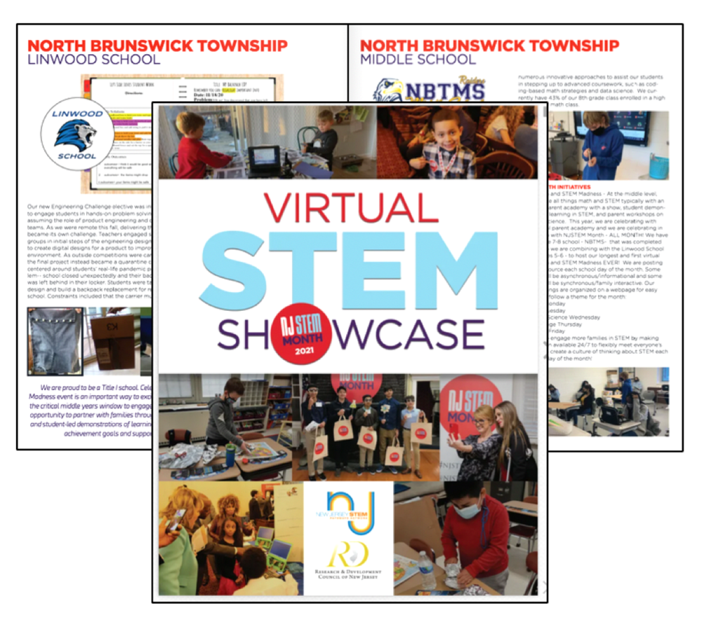 Check out the Virtual STEM Showcase FlipBook!