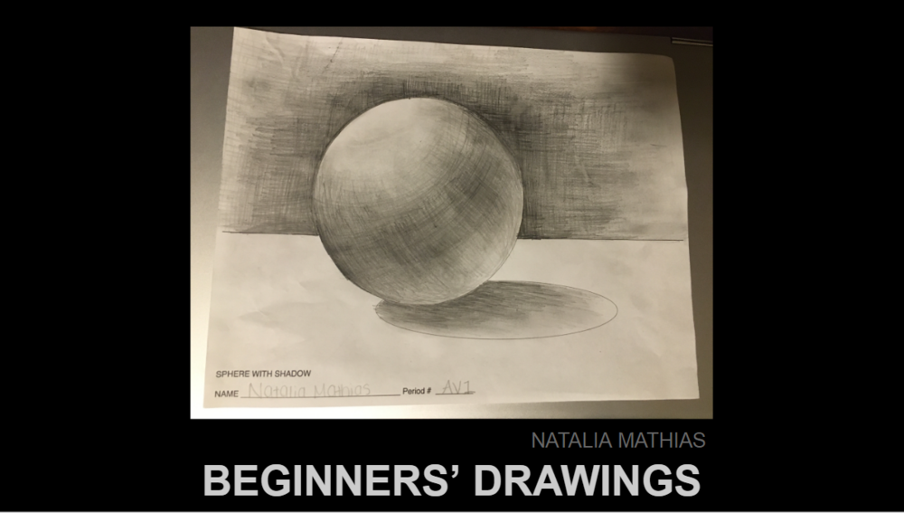 Beginners' Drawings 2020