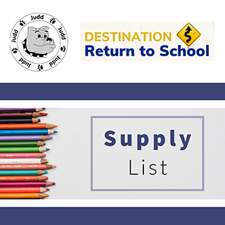 Judd School Supply Lists