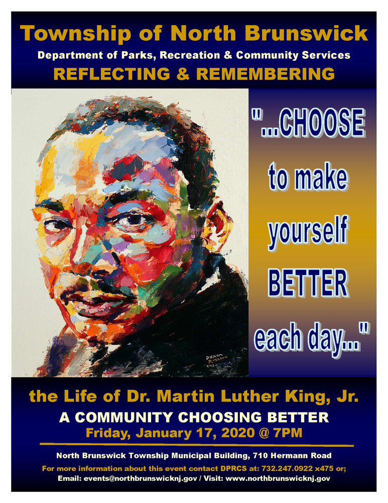 Township Martin Luther King, Jr. Event