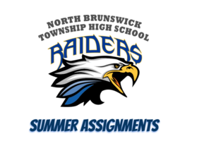 NBTHS Summer Assignments 2020
