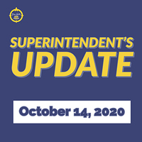 Superintendent's Update October 14, 2020