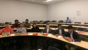 NBTHS Students Visit Rutgers Business School
