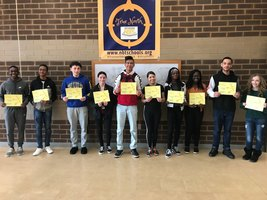 NBTHS recognizes Students of the Marking Period