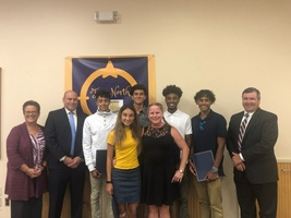 NBTHS Cross Country Members Recognized for Heroic Act