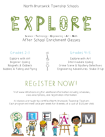 EXPLORE with STEAM After School Enrichment for Grades 2-5