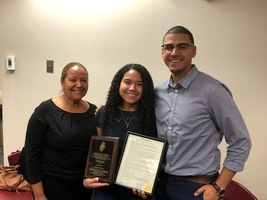 2019 North Brunswick Youth Advocate Award Recepient