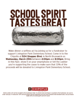 Chipotle Fundraiser - March 25th