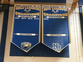 New NBTHS Gym Banners