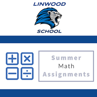 Linwood Summer Math Assignments 2020