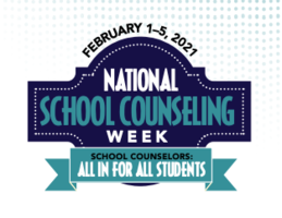 National School Counseling Week 2/1 - 2/5
