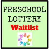 Preschool Waitlist 2020-2021