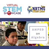 Middle School AMPED on Algebra Virtual NJ STEM Showcase