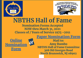 2021 NBTHS Hall of Fame