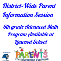 6th Grade Advanced Math Program Linwood School