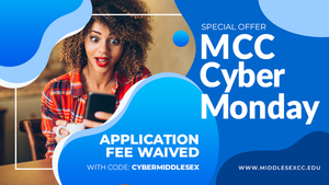 CYBER MONDAY (11/30) FEE WAIVER FOR MCC!
