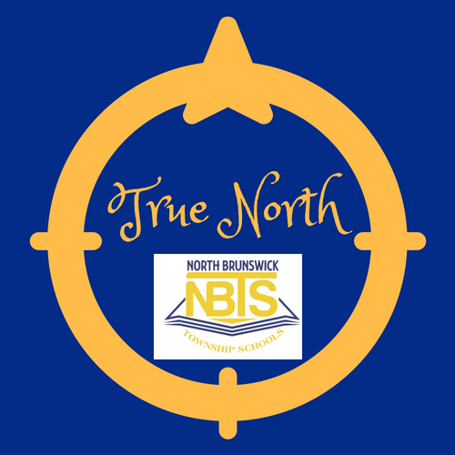 True North Brunswick Logo with Compass directions.