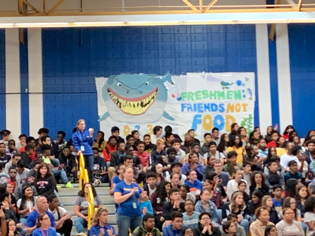Class of 2023 Pep Rally Banner 2nd Place