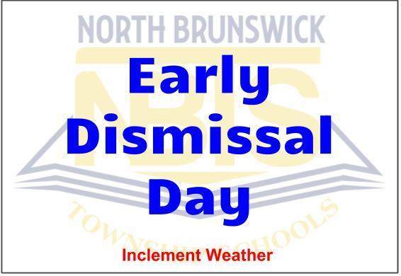 Early Dismissal Inclement Weather