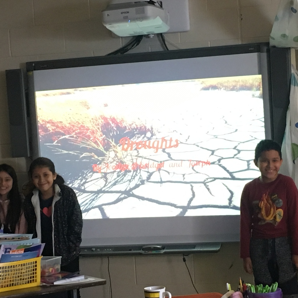 Presenting on Droughts