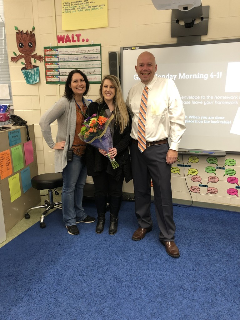 Kelly Muller, Teacher of the Year
