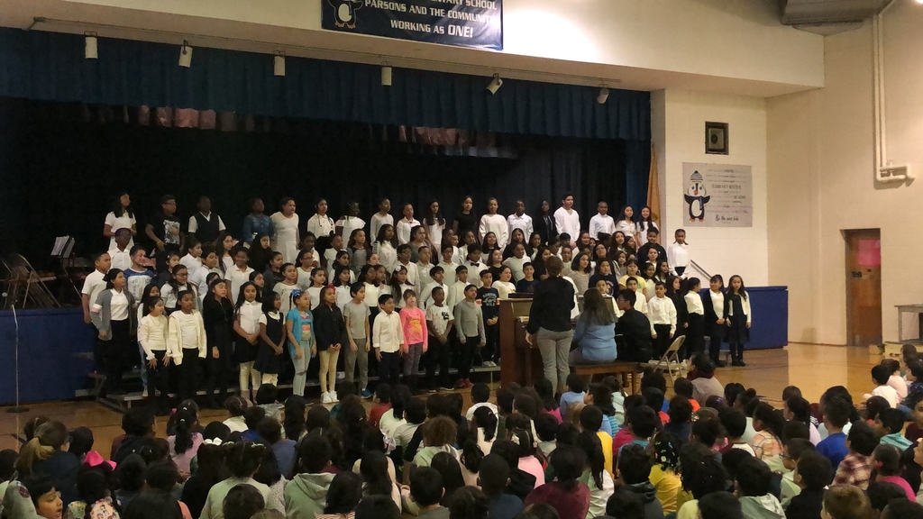 Parsons Chorus performance