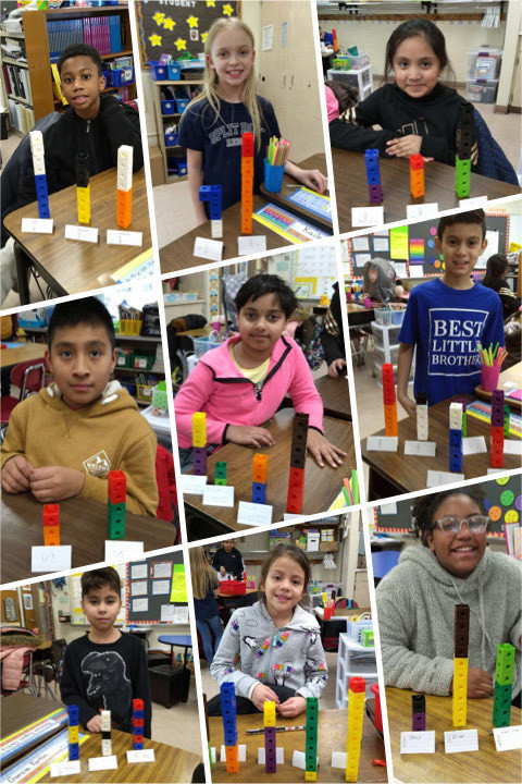 We were so excited about our fraction museum!