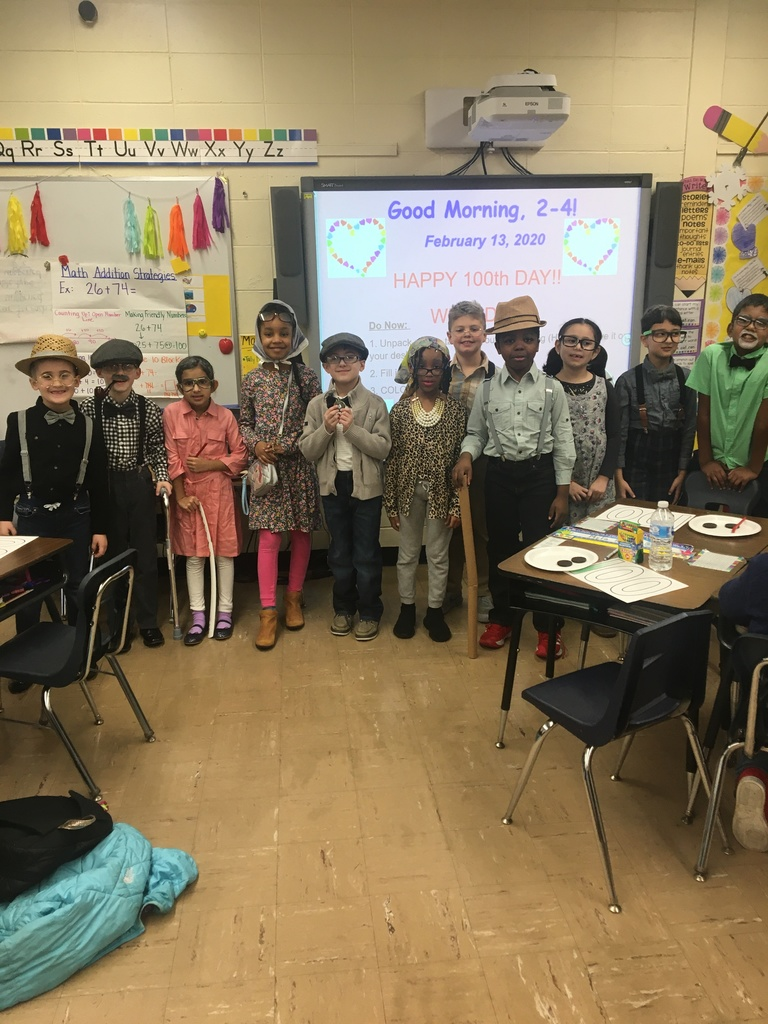 100th Day of School-2nd grade