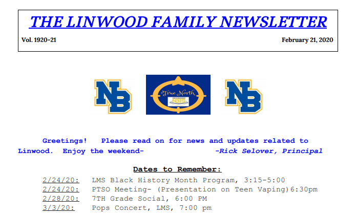 Linwood Newsletter 21
