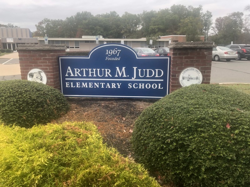 Judd School Sign