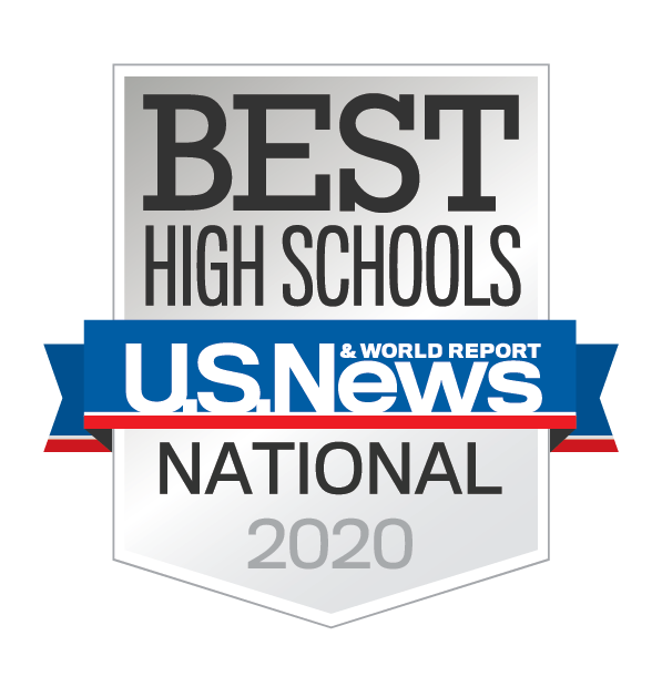 U.S. News & World Report Best High Schools 2020 Badge